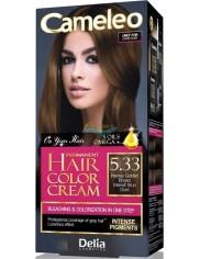 Cameleo Farba do Włosów Ciemnych Rozjaśniająca 5.33 Intensywny Złoty Brąz 1 szt