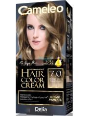 Cameleo Farba do Włosów Trwale Koloryzująca 7.0 Średni Blond 1 szt