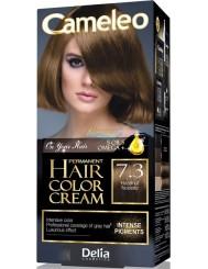 Cameleo Farba do Włosów Trwale Koloryzująca 7.3 Orzech Laskowy 1 szt