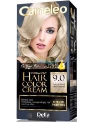 Cameleo Farba do Włosów Trwale Koloryzująca 9.0 Naturalny Blond 1 szt