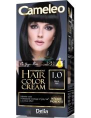 Cameleo Farba do Włosów Trwale Koloryzująca 1.0 Czarny 1 szt