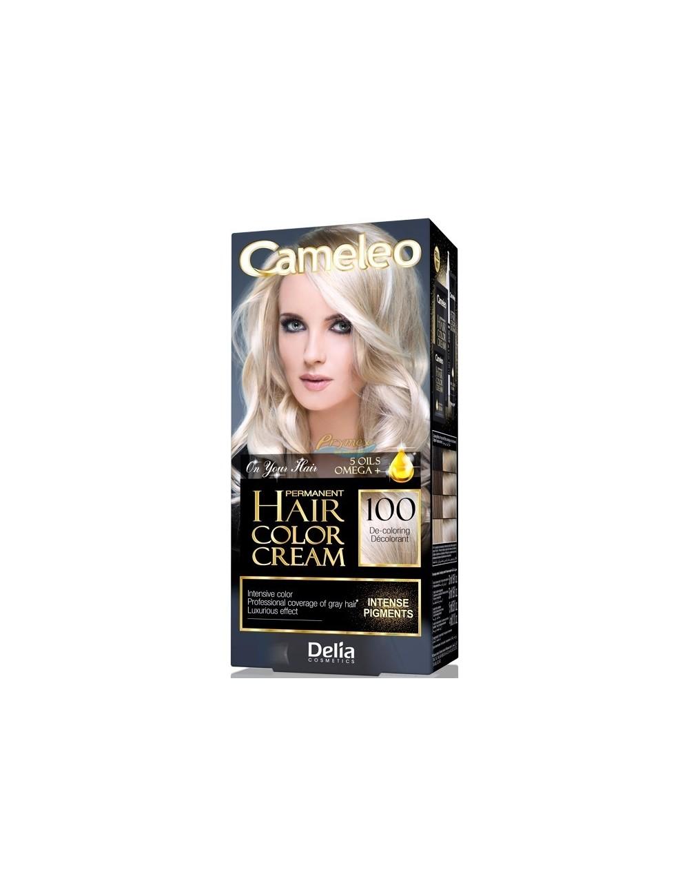 Cameleo Farba do Włosów Trwale Koloryzująca 100 Dekoloryzator 1 szt
