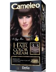 Cameleo Farba do Włosów Trwale Koloryzująca 3.3 Ciemny Czekoladowy Brąz 1 szt