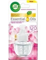 Air Wick Electrical Magnolia i Kwiat Wiśni Zapas 19ml – wkład do elektrycznego odświeżacza powietrza