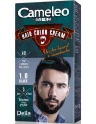 Cameleo Men Farba do Włosów i Brody dla Mężczyzn 1.0 Czarny Hair Color Cream 1 szt