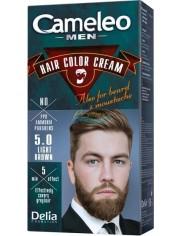 Cameleo Men Farba do Włosów i Brody dla Mężczyzn 5.0 Jasny Brąz Hair Color Cream 1 szt