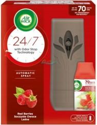 Air Wick Automatyczny Odświeżacz Powietrza Urządzenie + Wkład Soczyste Owoce Leśne 250 ml