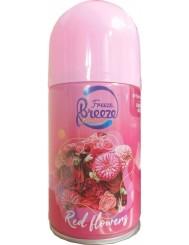 Freeze Breeze Wkład do Automatycznego Odświeżacza Powietrza Czerwone Kwiaty 250 ml