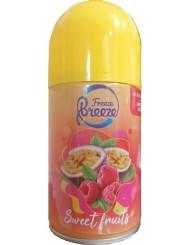Freeze Breeze Wkład do Automatycznego Odświeżacza Powietrza Słodkie Owoce 250 ml