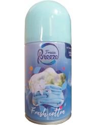 Freeze Breeze Wkład do Automatycznego Odświeżacza Powietrza Świeża Bawełna 250 ml