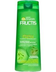 Fructis Szampon do Włosów Normalnych, Przetłuszczających się Wzmacniający, Oczyszczający z Ekstraktem z Ogórka 250 ml