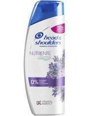 Head & Shoulders Szampon do Włosów Przeciwłupieżowy Odżywiający Lawenda Nutriente 400 ml (IT)
