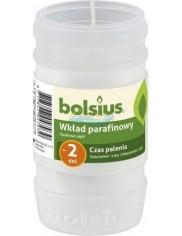 Bolsius Wkład do Zniczy Parafinowy Biały (czas palenia ~ 2 dni) (11 cm x 5,7 cm) 1 szt
