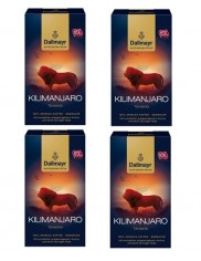 Dallmayr Kawa Mielona Kilimanjaro Tansania Arabika Zestaw (4x 250 g) (DE)
