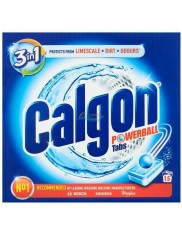 Calgon Tabletki do Pralki Przeciw Osadzaniu się Kamienia i Brudu 3-w-1 Powerball 15 szt