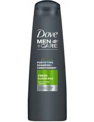 Dove Szampon z Odżywką do Włosów dla Mężczyzn Fresh Clean 2in1 250 ml