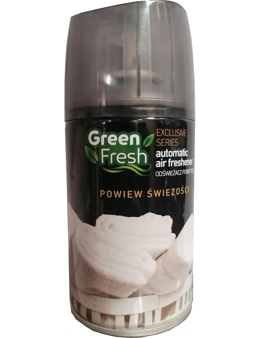 Green Fresh Powiew Świeżości Odświeżacz Powietrza do Urządzeń Automatycznych 250 ml