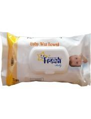 Fresh Baby Chusteczki Nawilżane dla Dzieci 72 szt