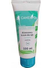Canexpol Krem Łagodzący do Rąk Aloesowy Express Therapy 100 ml - z pantenolem