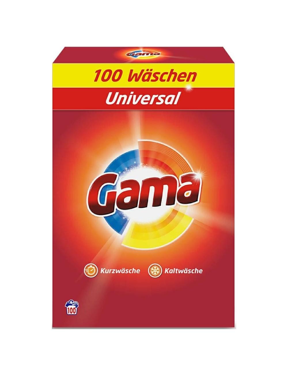 Gama Vizir Niemiecki Uniwersalny Proszek do Prania 6,5kg (100 prań)