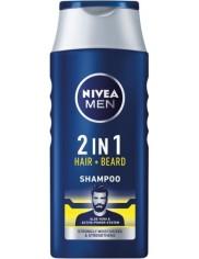 Nivea Men Szampon do Włosów i Brody 400 ml