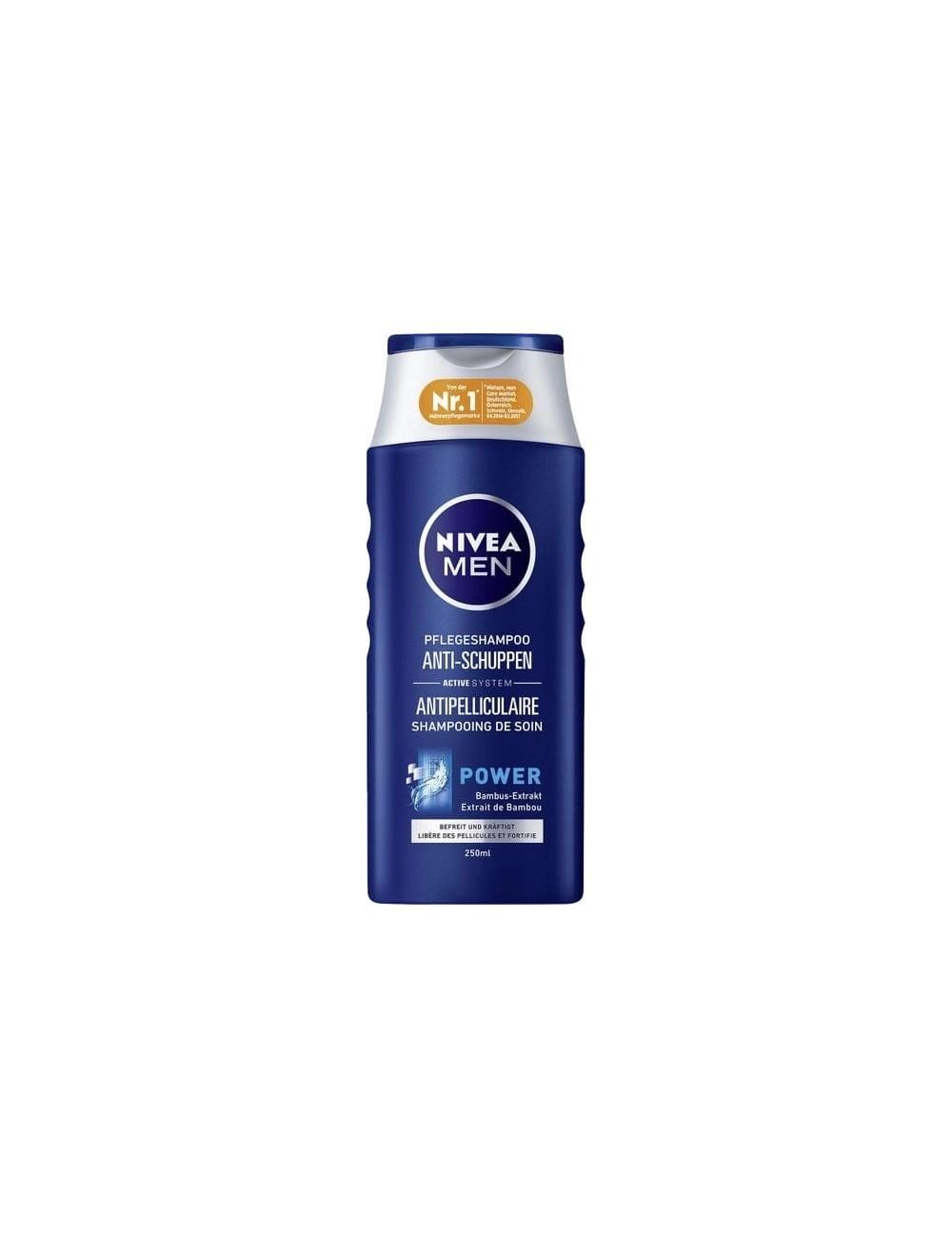 Nivea Men Szampon do Włosów Przeciwłupieżowy Power 250 ml (DE)