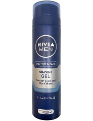 Nivea Men Żel do Golenia Nawilżający Protect & Care 200 ml (DE)