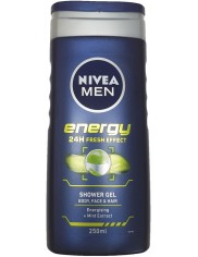 Nivea Men Żel pod Prysznic Energy 250 ml (DE)