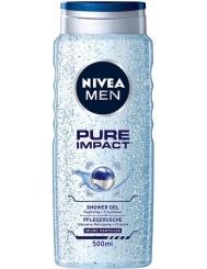 Nivea Men Żel pod Prysznic Pure Impact 500 ml