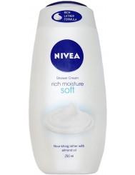 Nivea Żel pod Prysznic Soft Rich Moisture 250 ml (UK)