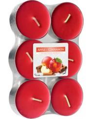 Świeca Zapachowa Podgrzewacz P35-6 Jabłko - Cynamon 6 szt