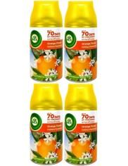 Air Wick Zapas do Automatycznego Odświeżacza Powietrza Citrus Zestaw (4x 250 ml)