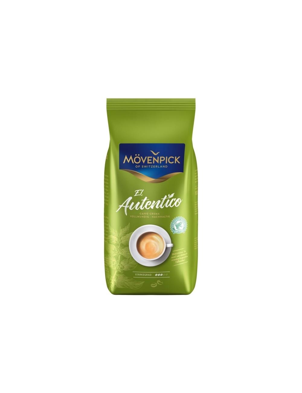 Movenpick El Autentico Caffe Crema Kawa Ziarnista w Torebce 1 kg