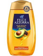 Felce Azzurra Olejek pod Prysznic Odżywiający i Nawilżający Awokado i Papaja 250 ml (IT)
