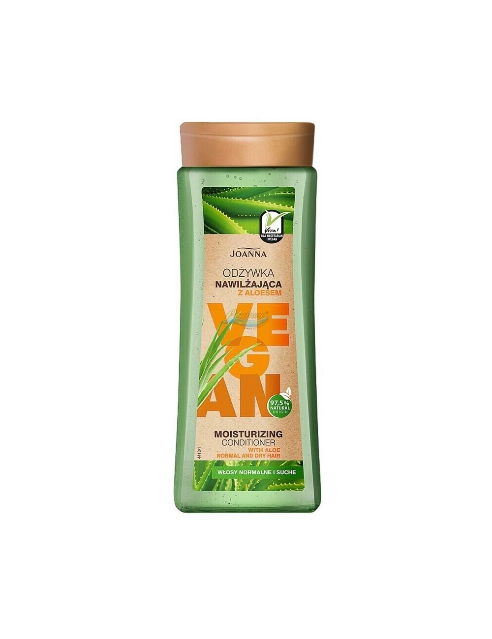 Joanna Vegan Odżywka do Włosów Nawilżająca z Aloesem 300 g