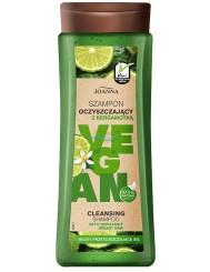 Joanna Vegan Szampon do Włosów Oczyszczający z Bergamotką 300 ml