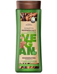 Joanna Vegan Szampon do Włosów Regenerujący z Proteinami Migdału 300 ml