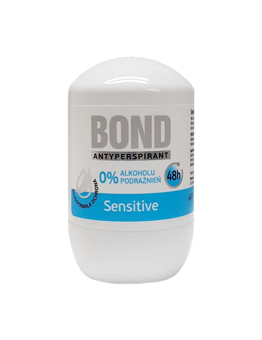 Bond Antyperspirant w Kulce Sensitive 50 ml