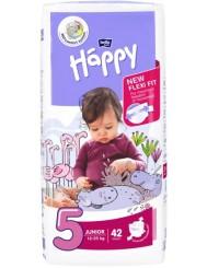 Bella Happy Junior 5 Pieluchy dla Dzieci (12-25 kg) 42 szt