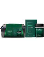 Chopin OP.25 Luksusowy Zestaw dla Mężczyzn – woda perfumowana 100 ml + kosmetyczka z włoskiej skóry 1 szt
