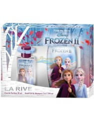 La Rive Kraina Lodu Zestaw dla Dziewczynki – woda perfumowana 50 ml + żel do kąpieli 2-w-1 250 ml