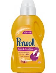 Perwoll Płyn do Prania Odzieży Codziennego Użytku Care & Condition 900 ml (15 prań)