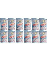 Green Shield Chusteczki do Podłóg 4-w-1 Floor Anti-Bacterial Zestaw (12x 24 szt) (UK)