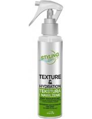 Joanna Spray do Włosów Tekstura i Nawilżenie Ułatwia Rozczesywanie Zielona Herbata i Aloes Styling Effect 150 ml