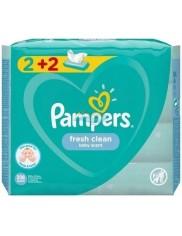 Pampers Chusteczki Nawilżane dla Dzieci Pielęgnacyjne Fresh Clean (4 x 52 szt)