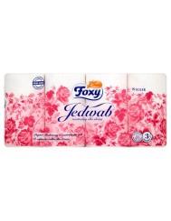 Foxy Papier Toaletowy o Zapachu Talku dla Dzeci Jedwab 3-warstwowy (8 rolek)