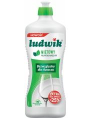 Ludwik Płyn do Mycia Naczyń Miętowy 900 g