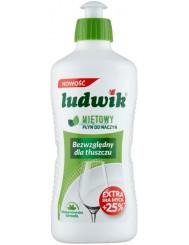 Ludwik Płyn do Mycia Naczyń Miętowy 450 ml