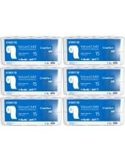 Velvet Papier Toaletowy Biały 2-warstwowy Celuloza Comfort Zestaw (6 x 8 rolek)