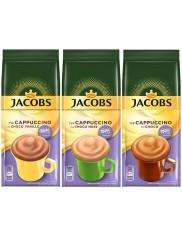 Jacobs Choco Cappuccino Milka Kawa Zestaw ( 3 szt x 500 g )